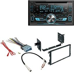Kenwood DPX503BT Dual-DIN USB/AAC/WMA/MP3 CD Receiver with E