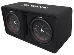 Kicker Dual 43DCWR122 12-Inch 2000W Loaded Subwoofer Enclosu