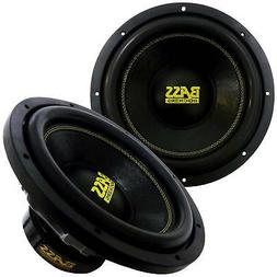 "Bass Rockers 12"" 2000W Dual 4-Ohm Car Audio Sub Bass Subwoof"