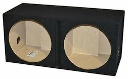 "Dual 15"" Ported Subwoofer Enclosure Vented Sub Box 15 Inch,"