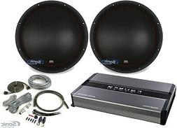 "MTX 5515-44 15"" 1600w DVC 4-ohm Car Audio Subwoofers+Mono A"
