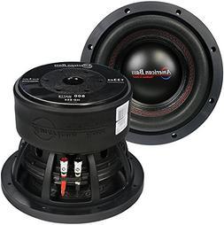 "American Bass 8"" DVC 800 Watts Cast Frame 2.5"" voice coil"