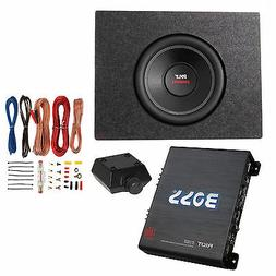"Pyle 10"" 1000W DVC Subwoofer + Q Power Truck Enclosure + Bos"