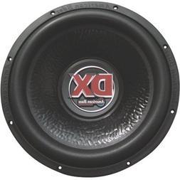New American Bass Dx124 12 600W 4 Ohm Car Aduio Subwoofer Su