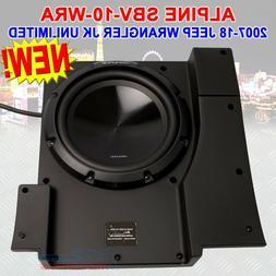 "Alpine Electronics SBV-10-WRA Pre-Loaded 10"" Subwoofer Syste"