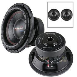 "American Bass Elite Series 1244 2 Pack 12"" Subwoofer Dual 4"