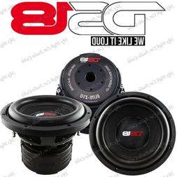 """DS18 Elite Z10 10"""" Subwoofer Dual 4 Ohm 1500 Watts Max Bass"""