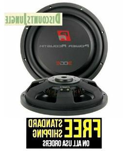 Power Acoustik EW-124S 12 in. Edge Shallow Series 4 ohm Subw
