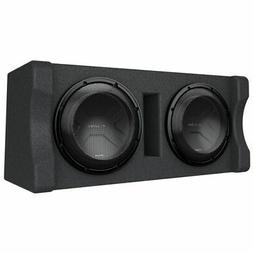 "Kenwood eXcelon Dual 12"" Preloaded Subwoofer Enclosure"