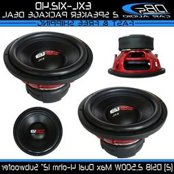 DS18 EXL-X12.4D Extremely Loud 12-Inch 2000 Watts Competitio