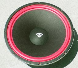 Factory Cerwin Vega woofer subwoofer speaker upgrade service