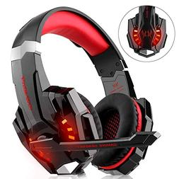 WILLNORN Gaming Headset Xbox One, PS4, PC Controller Noise C