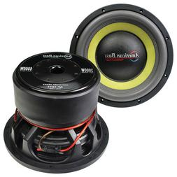 "American Bass GF-1811Godfather 18"" 400oz Magnet 4""Dual Voice"