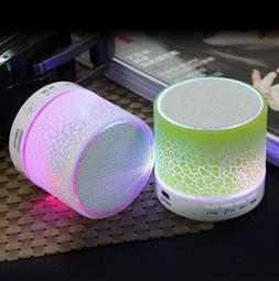 Glamory LED Bluetooth Speaker Wireless Hands free Portable S