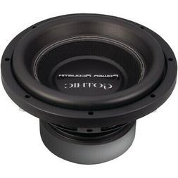 Power Acoustik Gothic Series 2ohm Dual Voice-coil Subwoofer