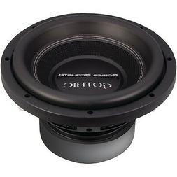 POWER ACOUSTIK GW3-10 Gothic Series 2_ Dual Voice-Coil Subwo