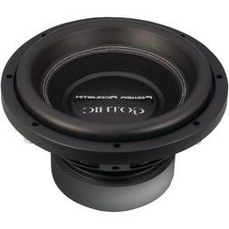 POWER ACOUSTIK GW3-10 Gothic Series 2ohm Dual Voice-Coil Sub