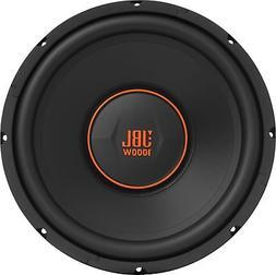 "JBL - GX Series 12"" Single-Voice-Coil 4-Ohm Subwoofer - Blac"