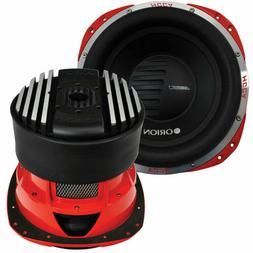 """ORION HCCA124 12"""" Car Subwoofer  5000 Watt Dual 4 Ohm Voice"""