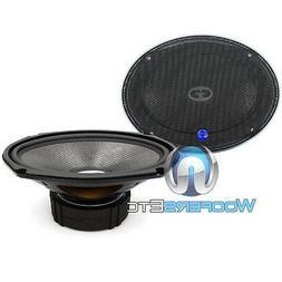 "CDT AUDIO HD-690CF 6""x9"" CARBON FIBER CAR SUBWOOFER MIDWOOFE"
