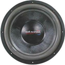 "American Bass Hd12D2 12"" Hd Series 4000 Watts Max Power Dual"