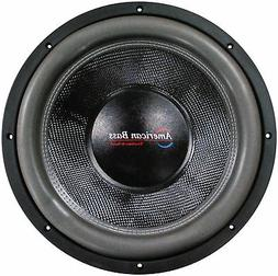 "American Bass HD12D2 12"" Subwoofer Hd Series Dual 2ohm Carbo"