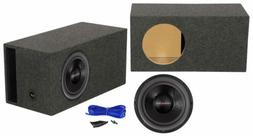 "American Bass HD12D2 HD 12"" 4000w Competition Subwoofer+Vent"