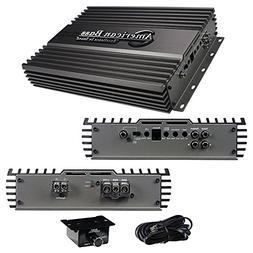 American Bass Usa HD1500 Versatile Subwoofer Amplifier Silve