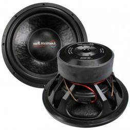 American Bass Hd15d2 15 3000w Car Audio Subwoofer Sub 3000 W