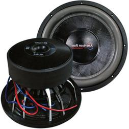 American Bass Hd15d2 15 3000w Car Audio Subwoofer Sub 3000 W