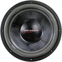 """American Bass HD18D2 18"""" Cast Frame 320oz Magnet Woofer"""