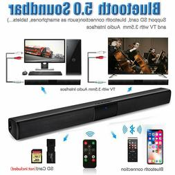 Home Theater Sound bar Bluetooth Wireless Subwoofer for TV W