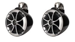 Wet Sounds ICON Series 8 inch Wakeboard Tower Speakers - Bla