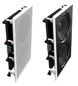 OSD Audio IWS88 In Wall 350W Home Theater Subwoofer Dual 8-I