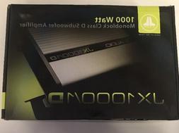 JL AUDIO JX1000/1D Car Stereo Mono Subwoofer Amplifier 1,000