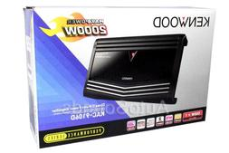 Kenwood KAC-9106D 2000 Watts Monoblock Class D Car Audio Sub