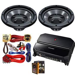 Kenwood KAC-5207 500W 2 CH Car Amplifier +  KFC-W112S 12""
