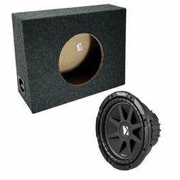 "Kicker 10"" Loaded 2010 Single 4 Ohm C10 150W With Sub Truck"
