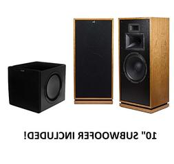 Klipsch Forte III Heritage Series Speakers  with Klipsch SW-