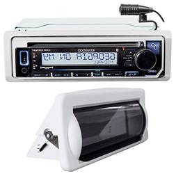 Kenwood KMR-D372BT Marine Bluetooth CD Receiver USB/Android/