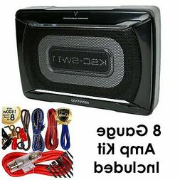 Kenwood KSC-SW11 150 Watts Compact Powered Enclosed Subwoofe