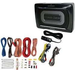Kenwood KSC-SW11 150W Low-Profile Amplified Car Subwoofer En