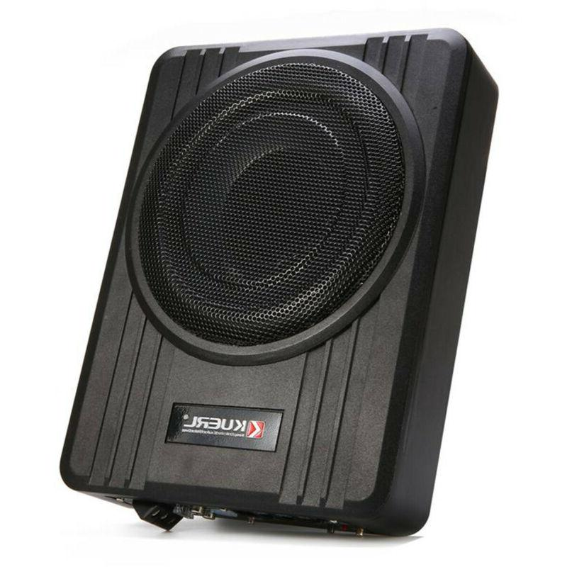 "10"" 600W Under-Seat Subwoofer Speaker Audio Super US"