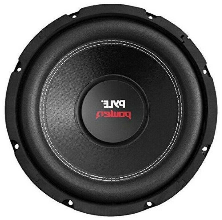 10 inch Car Audio Subwoofer Speaker Sub Dual 4 Ohm Enclosure