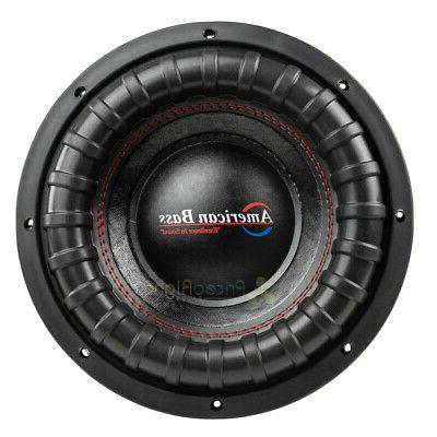 "American Bass 10"" Dual 4 2000 Watts Car Sub 2 Pack"