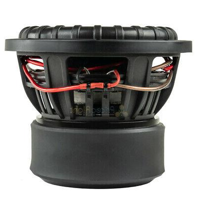 American Bass Subwoofers Dual Ohm 2000 Watts Sub 2 Pack