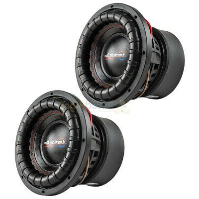 10 subwoofers dual 4 ohm 2000 watts