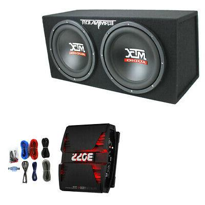 12 1200w subwoofer box enclosure and boss