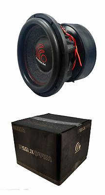 12 Inch Car Audio Subwoofer Dual Voice Coil 2 Ohm 6000W Mass