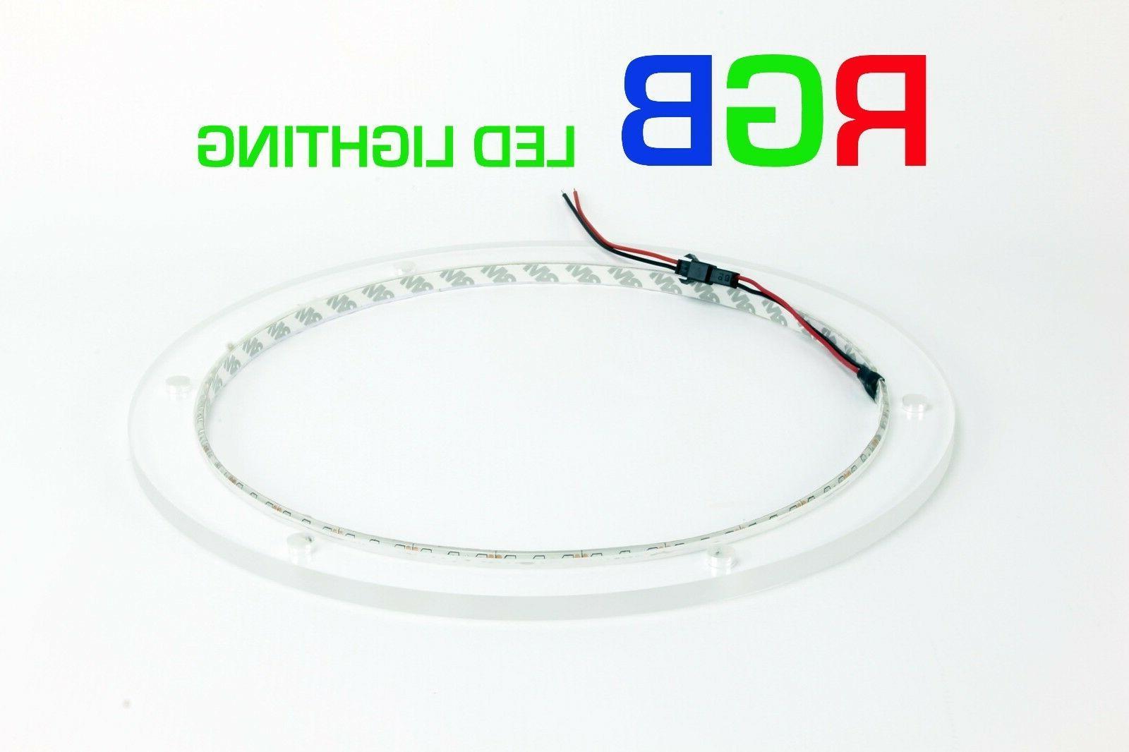 12 rgb led speaker ring for jl